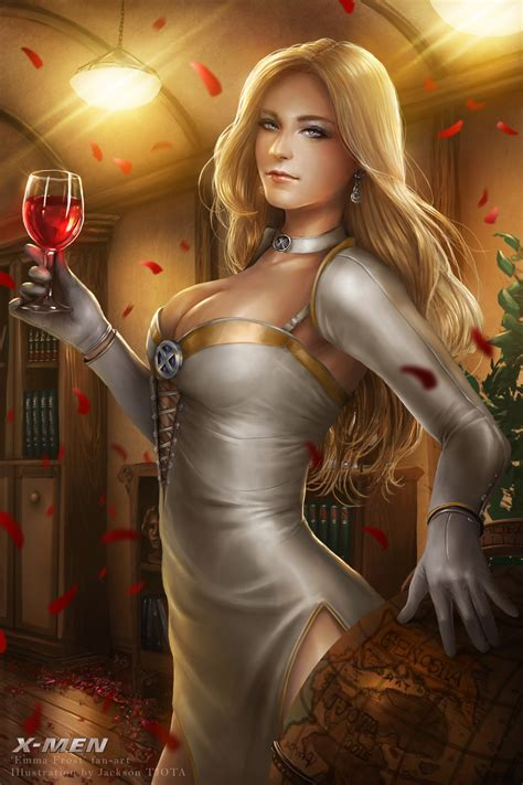 sexy emma frost png 900x1350