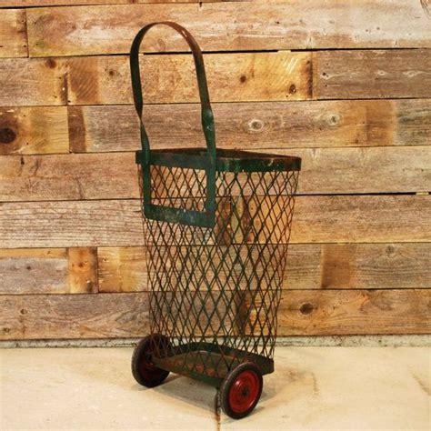 Vintage laundry basket wheels ebay jpg 570x570